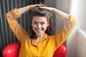 woman happy about detox