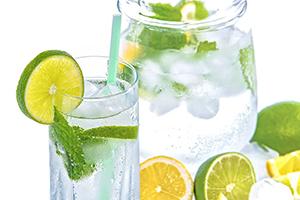drink water to help detox