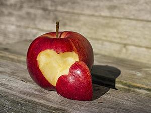 heart healthy apple
