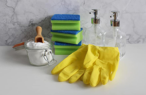 use safe cleaning products